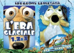 Copertina di 'L'Era Glaciale. 3 Dvd'