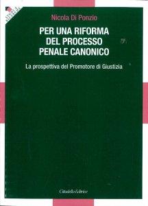 Copertina di 'Per una riforma del processo penale canonico'