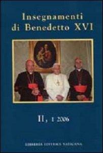 Copertina di 'Insegnamenti di Benedetto XVI II,1 2006'
