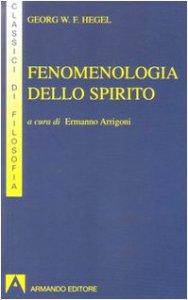 Copertina di 'Fenomenologia dello spirito'