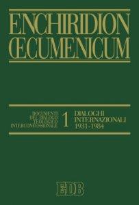 Copertina di 'Enchiridion Oecumenicum. 1'