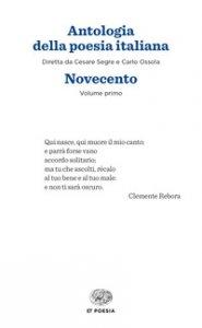 Copertina di 'Antologia della poesia italiana'