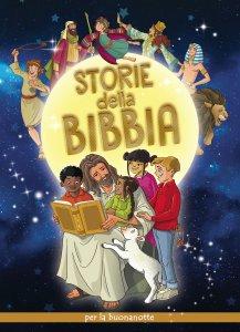 Copertina di 'Storie della Bibbia per la buonanotte'