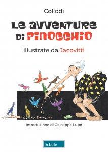 Copertina di 'Le avventure di Pinocchio illustrate da Jacovitti'
