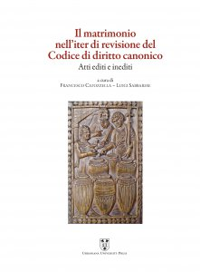 Copertina di 'Il matrimonio nell'iter di revisione del Codice di diritto canonico'