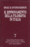 Il rinnovamento della filosofia in Italia tomo 2 - Antonio Rosmini