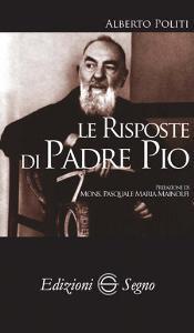 Copertina di 'Le risposte di Padre Pio'