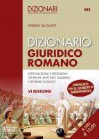 Dizionario Giuridico Romano - Federico del Giudice