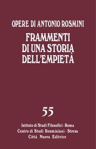 Copertina di 'Frammenti di una storia dell'empietà'