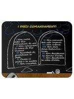 """Mousepad """"I dieci comandamenti"""" (tavole della legge)"""