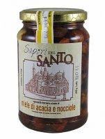 Miele d'acacia con nocciole  (400 gr.)