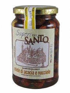 Copertina di 'Miele d'acacia con nocciole  (400 gr.)'