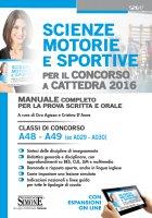 Scienze motorie e sportive per il Concorso a Cattedra 2016 - Ciro Agizza, Cristiana D'Anna