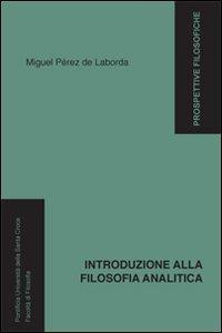 Copertina di 'Introduzione alla filosofia analitica.'