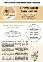 Immagine di 'Bomboniera comunione bambina/bambino: Rosario comunione con scatolina italiano'