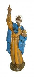 Copertina di 'Re magio Baldassarre Linea Martino Landi - presepe da 12 cm'