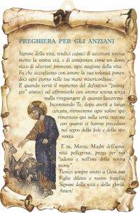 """Copertina di 'Tavoletta sagomata """"Preghiera per gli anziani""""'"""