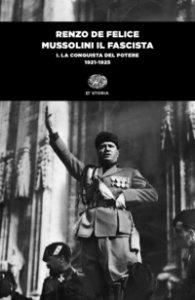 Copertina di 'Mussolini il fascista'