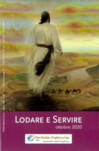 Copertina di 'Lodare e Servire. Ottobre 2020'