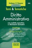 Temi  e  Tematiche Diritto Amministrativo - Redazioni Edizioni Simone