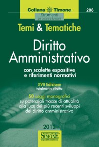Copertina di 'Temi  e  Tematiche Diritto Amministrativo'