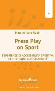 Copertina di 'Press play on sport'