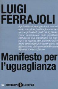 Copertina di 'Manifesto per l'uguaglianza'