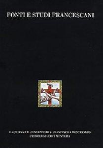 Copertina di 'Regesta Ordinis Fratrum Minorum Conventualium 1 (1488-1494)'