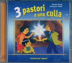 Copertina di 'Tre pastori e una culla'