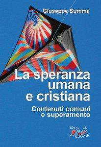Copertina di 'La speranza umana cristiana'