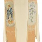 Immagine di 'Stola mariana con giglio e Madonna miracolosa'