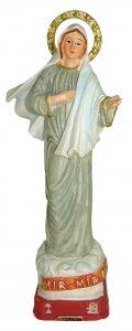 Copertina di 'Statua della Madonna di Medjugorje da 12 cm in confezione regalo con segnalibro'