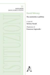 Copertina di 'David Mitrany. Tra economia e politica'