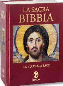Copertina di 'La sacra Bibbia - Via della pace'