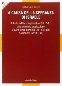 Copertina di 'A causa della speranza di Israele'
