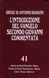 Copertina di 'Introduzione al Vangelo secondo Giovanni'