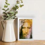 """Immagine di 'Quadretto """"Sacra Sindone"""" con cornice minimal - dimensioni 15x10 cm'"""