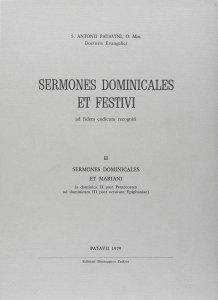 Copertina di 'Sermones dominicales et festivi [vol_2] / Sermones dominicales et mariani'