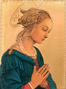 Copertina di 'Tavola Madonna del Lippi stampa su legno - 28 x 21 cm'