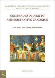 Copertina di 'Compendio di diritto amministrativo canonico.'