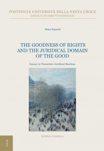 Copertina di 'The Goodness of Rights and the Juridical Domain of the Good'
