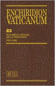 Copertina di 'Enchiridion Vaticanum. 23'