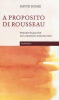 A proposito di Rousseau - Hume David