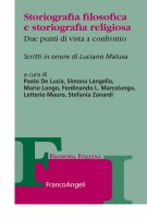 Storiografia filosofica e storiografia religiosa - AA. VV.