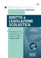 Elementi Maior di Diritto e Legislazione Scolastica - Redazioni Edizioni Simone