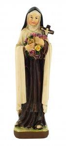 Copertina di 'Statua di Santa Teresa di Lisieux da 12 cm in confezione regalo con segnalibro in IT/EN/ES/FR'