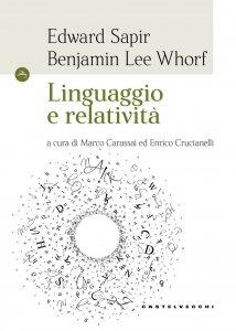 Copertina di 'Linguaggio e relatività'