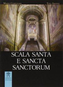 Copertina di 'Scala santa e sancta sanctorum'