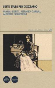 Copertina di 'Sette studi per Gozzano'