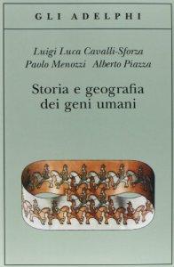 Copertina di 'Storia e geografia dei geni umani'